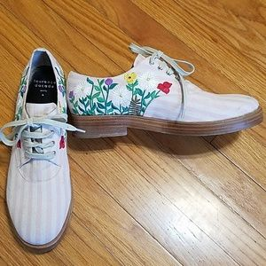 Laurence Dacade Floral Embroidered Shoes